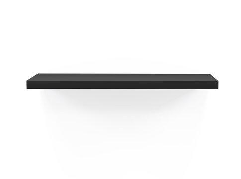 Shelf isolated 3d rendering