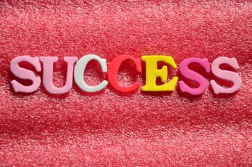 slowo success - fototapety na wymiar