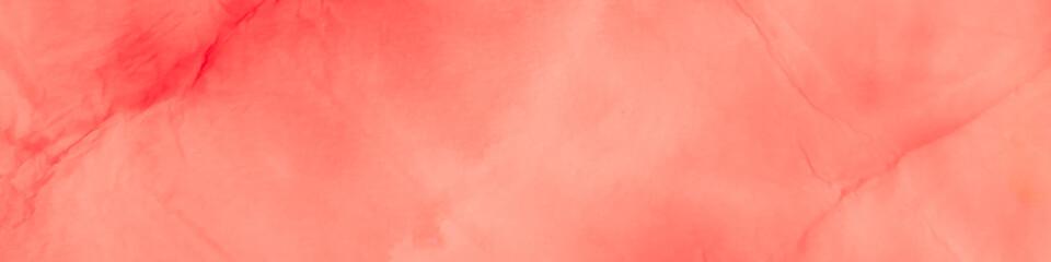 Watercolor Batik Repeat. Orange Lipstick