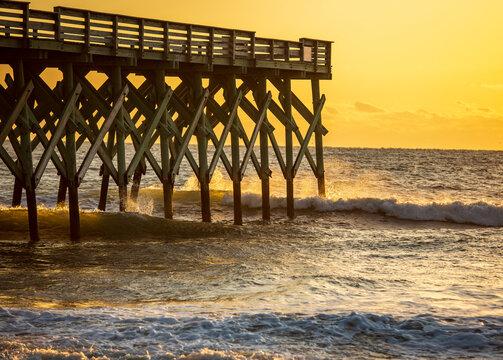 Golden Dawn at Wrightsville Beach