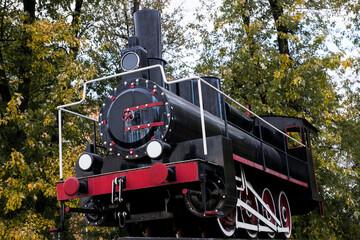 steam locomotive of Soviet times