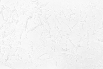 White frozen creamy texture. Abstract background