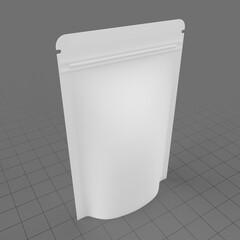 Plastic pouch bag