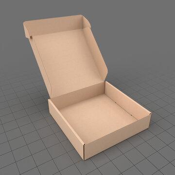 Open corrugated box 3