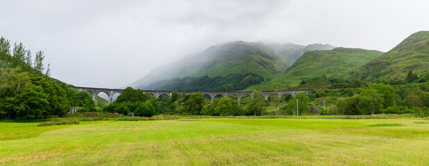 Harry Potter Viaduct in Scotland
