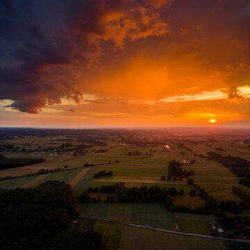 Wolka Grochowa Sunset
