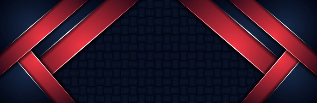abstract dark blue background with diagonal red lines
