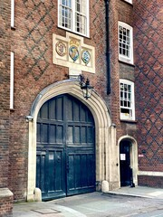 Entrance to Lincoln's Inn from Chancery Lane, London