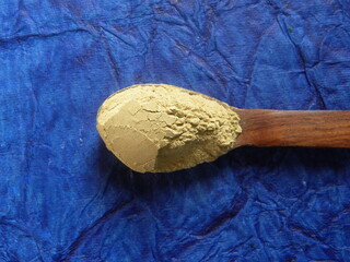 Brown color dry herbal Triphala powder