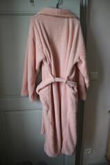 Colored soft bathrobe wellbeing clothing