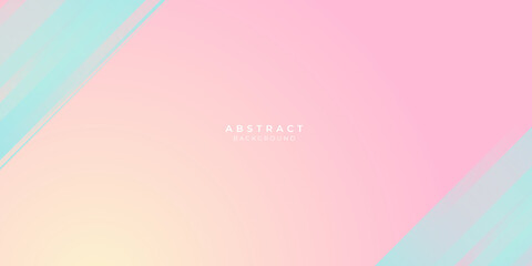 Modern blue pink orange yellow abstract background for presentation and social media post stories design templates