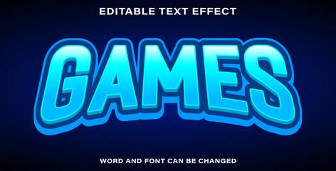 Wall Mural - Text effect games