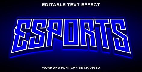 Wall Mural - Text effect esports