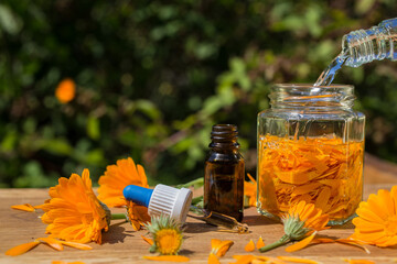 calendula medicinal homeopathic extract tincture