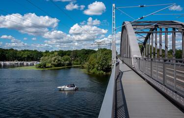 Eisenbahnbrücke Templiner See