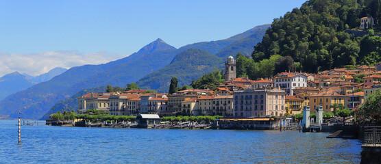 Bellagio sul lago di como, italia Fototapete