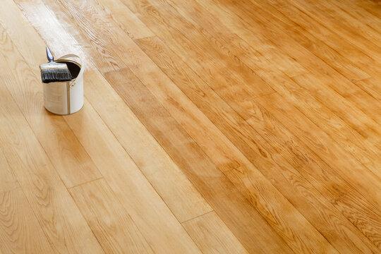 Restore a hardwood floor, UK