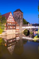 Nuremburg, Germany at Hangman's Bridge