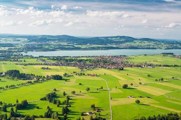 Bavaria, Germany Aerial Landscape