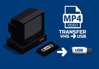 TRANSFER VHS TO USB