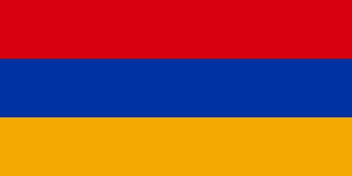 flag Armenia. Vector illustration