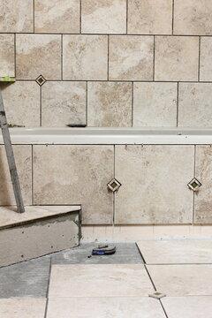 DIY Renovation: Master Bathroom Tile Remodel Project