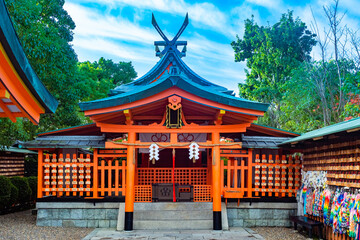 Japan. Kyoto. The Fushimi Inari Shrine. Fushimi Inari Taisha Temple. Shinto shrine. Kyoto...