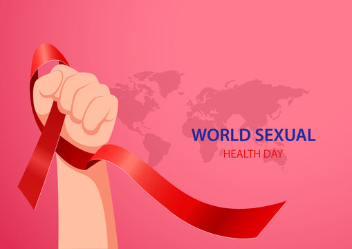 World sexual health day concept. vector illustration