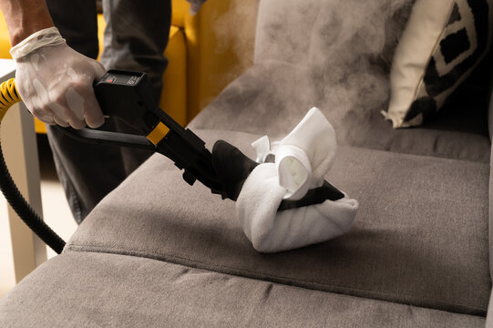 Pandemic series: Disinfection couch with hot steam