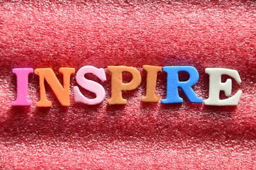 SLOWO INSPIRE - fototapety na wymiar