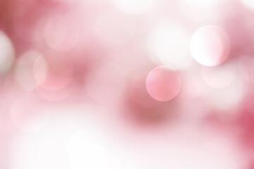 Wall Mural - Pink bokeh background blur,romantic holiday wallpaper