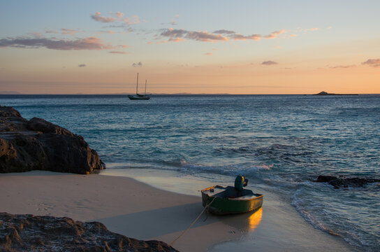 Point de vue depuis l'île de Tsarabanjina, archipel Mitsio - Madagascar
