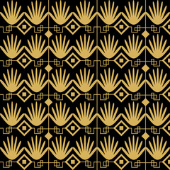 art deco pattern illustration in vector format