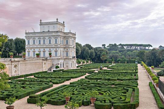 Villa Doria Pamphili in Rome , Italy.