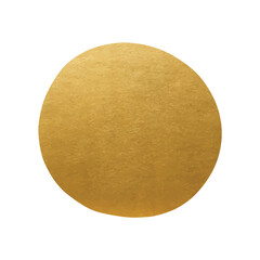 Golden Label - Round Metallic Shape - Golden Point