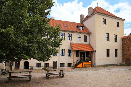 """Castle """"Friedland"""" in federal state Brandenburg - Germany"""