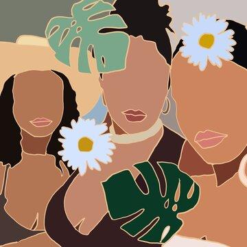Black Women Print