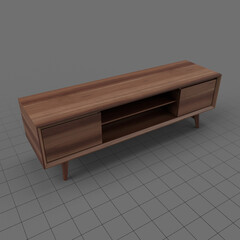 Modern television stand 2