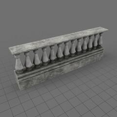 Concrete fence 1