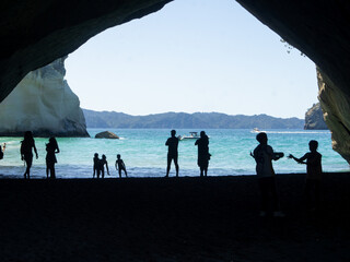 Cathedral cove - New Zealand