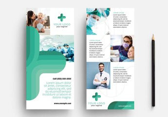 Thin Flyer for Hospital and Medical Services