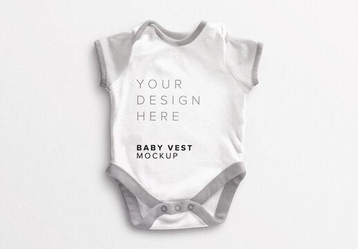 Baby Vest Mockup
