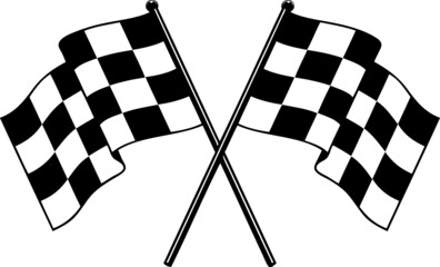 racing NASCAR checkered flag speed flag car racing flag eps vector