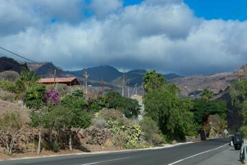 Road to Mogan, Gran Canarias