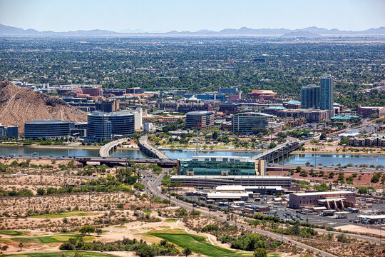 Clear Skies over Tempe, Arizona