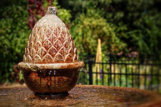 fountain in manitou