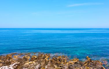 Coast of Crete island