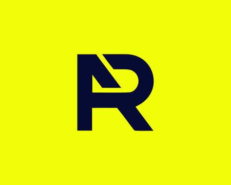 AR RA LETTER LOGO DESIGN VECTOR TEMPLATE. AR Minimalist, Unique, Simple, Creative , Flat, Business, Modern Logo Design.