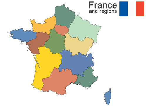 country France and regions