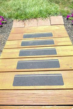 wood wheelchair ramp